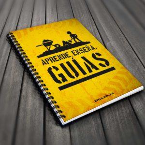 Spiral Book Guia Handbook Mockup